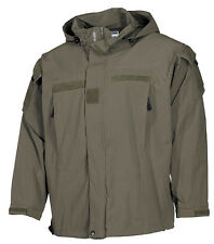Us pcu COMBAT OUTDOOR soft shell veste jacket OLIVE OD Green Level 5 L/Large