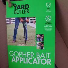 Yard Butler Gopher Bait Applicator Eliminate Garden Rodents Dispense Gopher Mole