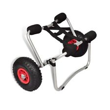 Aluminum Kayak Canoe Boat Trolley Carrier Dolly Cart With Strap 70kg