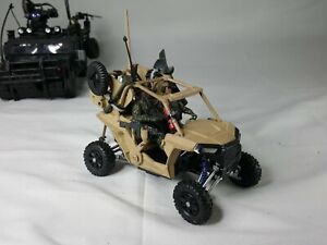 NEW RAY POLARIS DUNE BUGGY 4 WHEELS 1/18 for  GI Joe Elite Force Custom