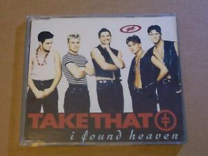 Take That ‎: I Found Heaven - CD Single (1992, RCA)