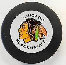 "Chicago Blackhawks Vintage Official Vegum NHL Hockey Puck ""Made In Slovakia"""