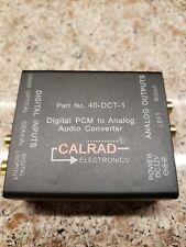 Calrad 40-DCT-2 2 WAY CONVERTER COAXIAL TO OPTICAL