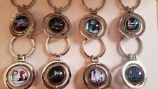 Twenty One Pilots Merch Keychain with Dome Glass Cabochon Key chain