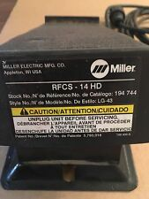Miller RFCS-14 Hd Foot Control Pedal - Original Tig Weld Switch