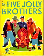 Wonder Book #552 Five Jolly Brothers by T Chaffee 1951