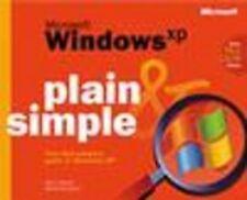 Microsoft Windows XP  Plain & Simple, Marianne Moon, Jerry Joyce, Very Good Book