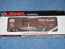 1991 Lionel 6-16232 Rock Island Double Door Box Car Nib L1236