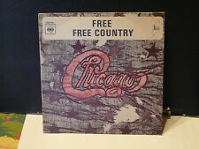 CHICAGO Free / Free country CBS 7061