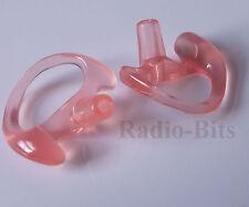 Gel Ear Mould Ear Insert TWIN Pack Small RIGHT MTH800 Sepura Motorola Kenwood