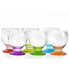 Glassware Set 6Pc Drinking Wine Glasses Dinner Juice Dining 280ml Gift Glass