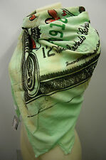 Kefia foulard sciarpa scarf SWEET YEARS art.LF72 col.2 verde green america Italy