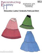 Edwardian Petticoat-Skirt / Underskirt - Reconstructing History Sewing Pattern