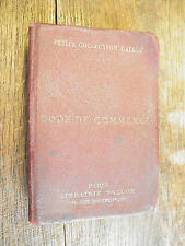 Code de commerce 1931 / Petite collection Dalloz