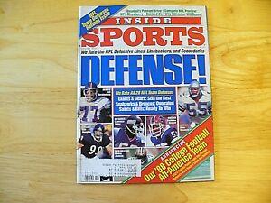 """Inside Sports Magazine - October 1988 - """"Defense!"""" - VINTAGE"""