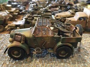 WWII Wehrmacht SdKfz Zwillingsgeschütz 1:35 gebaut