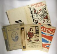 4 Piece Books Notebooks Paper Shown Advertising Effel Nam Debxxe