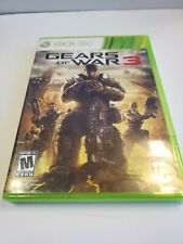 Gears of War 3 (Microsoft Xbox 360, 2011) With Stickers