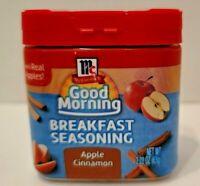 McCormick Good Morning Breakfast Seasoning Apple Cinnamon 2.22 oz