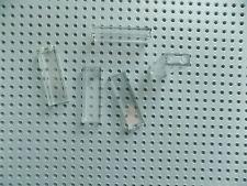 Lego Translucent Clear Brick 1 x 2 x 5 lot of 5 pieces  part 2454