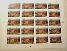 C138a ACADIA NAT'L PARK FULL PANE (20) 60 CENT STAMPS PLATE # B2222 DATE 2001