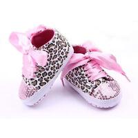 1X(Neue Kleinkind Leopard Pailletten Turnschuhe Baby Maedchen weiche K9K6)