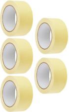 5-Pack Malerkrepp 30 mm x 50 m Abklebeband Kreppband Abdeckband Klebeband T1