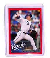2010 Topps Red Border #50 Zack Greinke NM-MT 103/299 Kansas City Royals ID:795
