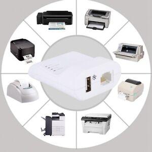 100Mbps USB2.0 LPR Printer,USB Print For Network Server,Sharing LAN Networking