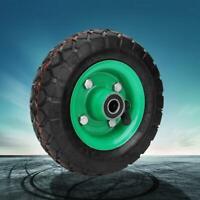 Pneu gonflable 6in pneu de roue de qualité industrielle chariot chariot chariot