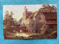 Ichtham Mote, England Vintage Postcard