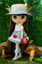 BHC FN634 Love Lock dress set (blue) for Kenner Blythe doll - dress /outfit
