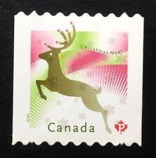 Canada #2239i Die Cut MNH, Christmas - Reindeer Stamp 2007