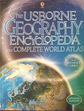 Usborne Geography Encyclopedia with Complete World Atlas, Internet-links NEW