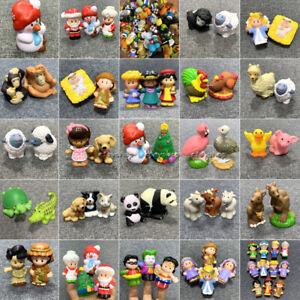 Lot Fisher Price Little People CHRISTMAS Zoo Animal Disney DC Comics figure toys
