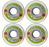 KRYPTONICS ROUTE 62MM 78A CLEAR Longboard Cruiser Skateboard Wheels