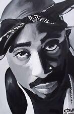 2PAC Painting ALL EYEZ ON ME 2PACALYPSE MAKAVELI THE DON KILLUMINATI HIPHOP RAP