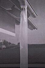 je Meter Dachrinnenschlauch Schlauchfolie Regenrinne Dachrinne 125 mm 100my