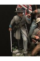 Confederate officer at Battle of Gettysburg 54mm Tin Painted Toy Soldier | Art