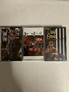 David Bowie Cassette Lot Sealed