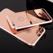 iPhone 7 Mirror Reflection Case rose gold Gloss Anti-scratch Ultra thin luxury