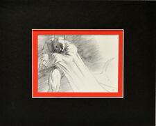 BATMAN PENCILS PRINT PROFESSIONALLY MATTED Jim Lee art