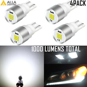 Alla Lighting LED 194 One Beam Direction Map Door Courtesy Trunk Tag Light Bulb