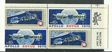 US 1569-1570 @ (1975) MNH - VF/XF {Plate Block} EFO: Color Change