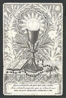 Estampa Puntilla Canivet antigua andachtsbild santino holy card santini