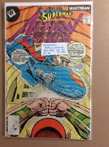 Superman's Action Comics Book #482 published by Whitman