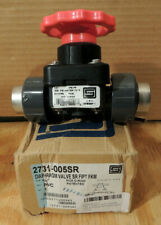 Spears 2731-005SR Diaphragm Valve SR Threaded 1/2'' FNPT, PVC Body, Domestic