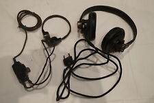 WW2 German Army Panzer Headset and Throat Mic
