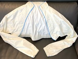 Cannondale Women's Cycling Softshell Magnetic Jacket Top Layer White Sz Small