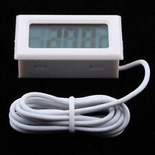 Lcd Digital Fish Tank Reptile Aquarium Water Meter Thermometer Temperature M9I9